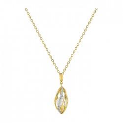 Fontenay Ladies Necklace - Brass - Gold Plated  (DSC360Z40E) in Kuwait | Xcite Alghanim