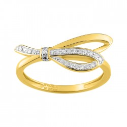 Fontenay Ladies Ring - Brass - Gold Plated  (DSR361Z-54) in Kuwait   Xcite Alghanim
