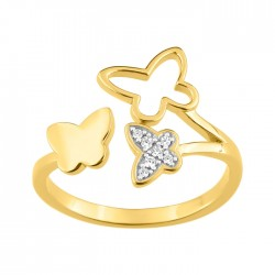 Fontenay Ladies Ring - Brass - Gold Plated  (DSR363Z-54) in Kuwait   Xcite Alghanim