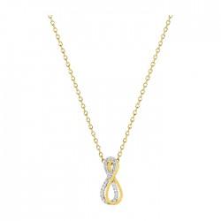 Fontenay Ladies Necklace - Brass - Gold Plated  (DSC366Z40E) in Kuwait | Xcite Alghanim