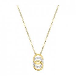 Fontenay Ladies Necklace - Brass - Gold Plated  (DSC367Z40E) in Kuwait | Xcite Alghanim