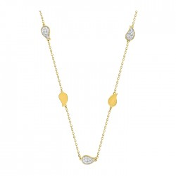 Fontenay Ladies Necklace - Brass - Gold Plated  (DSC368Z40E) in Kuwait | Xcite Alghanim