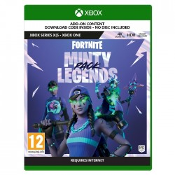 Fortnite: Minty Legends Pack Xbox Series X Game cover