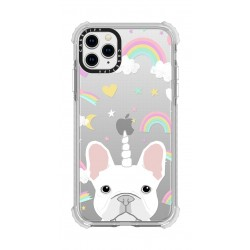 Casetify French Bulldog iPhone 12 Pro Max Back Case - Clear