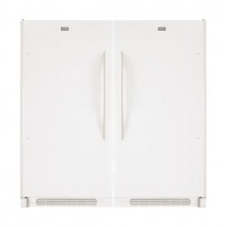 Frigidaire 21 CFT Single Door Refrigerator + Frigidaire 21 CFT Upright Freezer