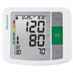 Medisana 51160-BU 510 Upper Arm Blood Pressure Monitor - Front View