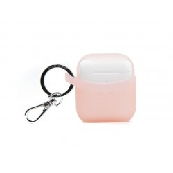 Podpockets Secure Scoop AirPods Protective Case - Frosted Pink