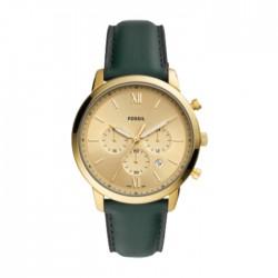 Fossil Neutra Quartz Chrono 44mm Men's Watch Green FS5580 in Kuwait | Buy Online – Xcite