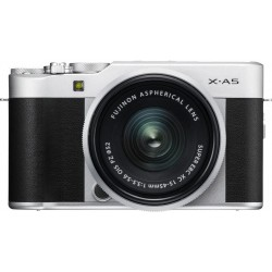 Fujifilm X-A5 Mirrorless Digital Camera + 15-45mm Lens - Black