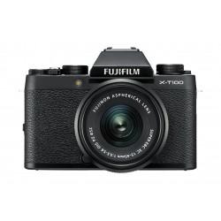 Fujifilm X-T100 Mirrorless Digital Camera w/ XC15-45mm Lens - Black