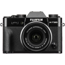 Fujifilm X-T20 Mirrorless Digital Camera + XC 15-45mm Lens - Black