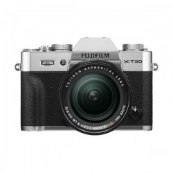 Fujifilm X-T30 Mirrorless Camera + 18-55mm Lens - Silver