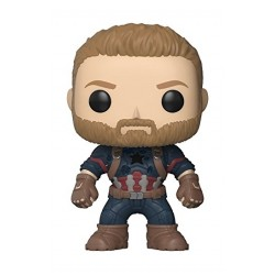 Funko Marvel Avengers Infinity War Collectible Figure - Captain America