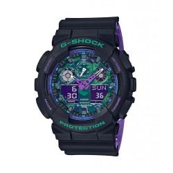 Casio G-shock Analog-Digital Gents Rubber Watch (GA-100BL-1ADR)
