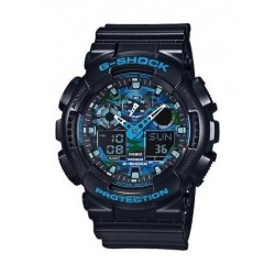 Casio G-Shock Ana-Digital Sport Watch For Men (GA-100CB-1ADR)
