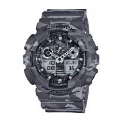 Casio G-Shock 55mm Men's Digital Watch (GA-100CM-8ADR) in Kuwait | Buy Online – Xcite