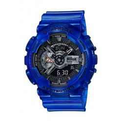 Casio G-Shock Blue Band Sport Watch (GA-110CR-2ADR)