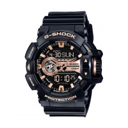 Casio G-Shock Black Band Men's Sport Watch (GA-400GB-1A4DR)