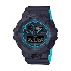 Casio G-Shock Black Band Sport Watch For Men (GA-700SE-1A2DR)