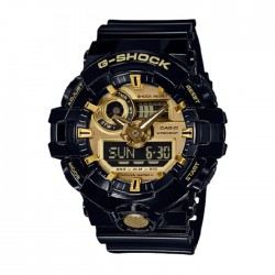 Casio G-Shock 50mm Men's Digital Watch GA-710GB-1ADR in Kuwait | Buy Online – Xcite