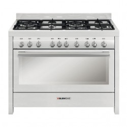 Glem Gas 120 x 60 cm Gas Cooker (MLW626RI01AN) - Front View