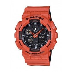 Casio G-Shock Orange Band Sport Watch (GBA-800-4ADR)