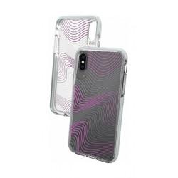 Gear4 Victoria Fabric iPhone XS Max Case (32988) - Clear