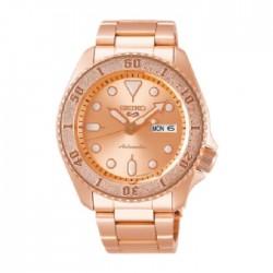 Seiko 42.5mm Analog Casual Gents Metal Watch (RPE72K1) – Rose Gold