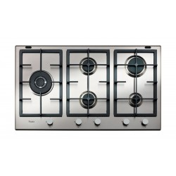 Whirlpool 90cm 5-Burners Built-in Gas Hob (GMA 9522 IX) – Silver