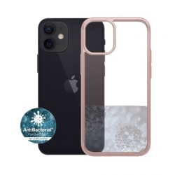 Panzer iPhone 12-12 Pro Anti-Bacterial Case - Rosegold