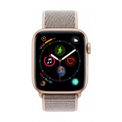 Apple Watch Series 4 44mm, Gold Aluminium Case, Pink Sand Sport Loop