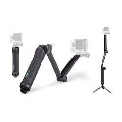 GoPro 3-way 3 in 1 Mount for GoPro Hero 4  (AFAEM-001) - Black