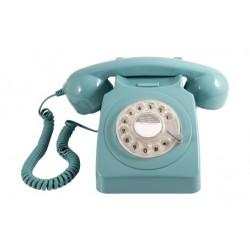 GPO 746 Corded Rotary Telephone - Mint Green