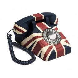 GPO Corded Rotary Telephone - Union Flag