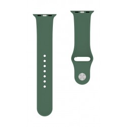 Behello Premium Apple Watch 42/44mm Silicone Strap (PRMSWS006) - Green