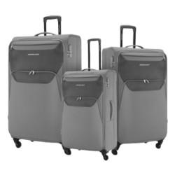 American Tourister Kam Bali Soft Luggage Set - Grey