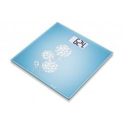 Beurer GS 200 Allium Digital Glass Scale - Sky Blue