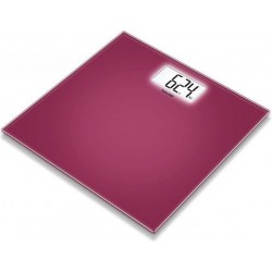 Beurer Bathroom Glass Scale (GS 208) - Berry