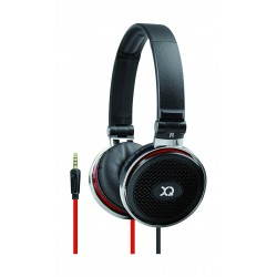 XQISIT H100 Over-ear Headphone with Mic - Black