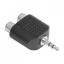 Hama 3.5M RCA Socket Audio Adapter