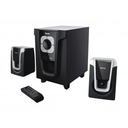 Hama PR-2120 2.1 Bluetooth Speaker System - Black Silver
