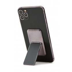HANDLstick Solid Electroplated Smartphone Holder - Space Grey