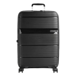 American Tourister Linex 77 CM Hard Luggage - Black