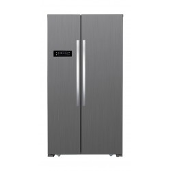 Home Elite 20 CFT Side by Side Refrigerator (HEH2-69S) - Silver