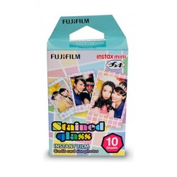 Fujifilm Instax Mini Stained Glass Film – 10 Sheets Per Pack