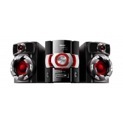 Wansa Bluetooth CD/DVD/USB Mini Speaker System (HF-0120) - Black