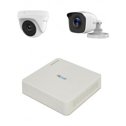 HiLook 8CH 2MP Surveillance Camera Kit (HLNH-208) - White