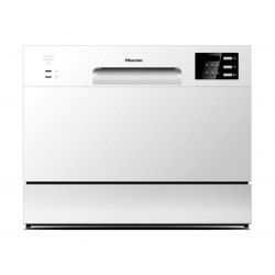Hisense 6Programs Table Top Dishwasher (H6DWH) - White