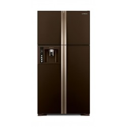 Hitachi 26 CFT Fourdoor Refrigerator (R-W660FPK3X) - Brown