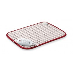 Beurer HK Comfort Heating Pad – white / Red